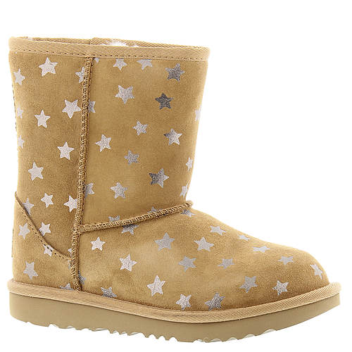 UGG® Classic Short II Stars (Girls' Toddler-Youth)