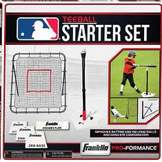 Franklin Sports-MLB® Return Tee and Base Set