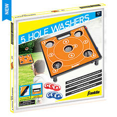 Franklin Sports 5-Hole Washer Toss