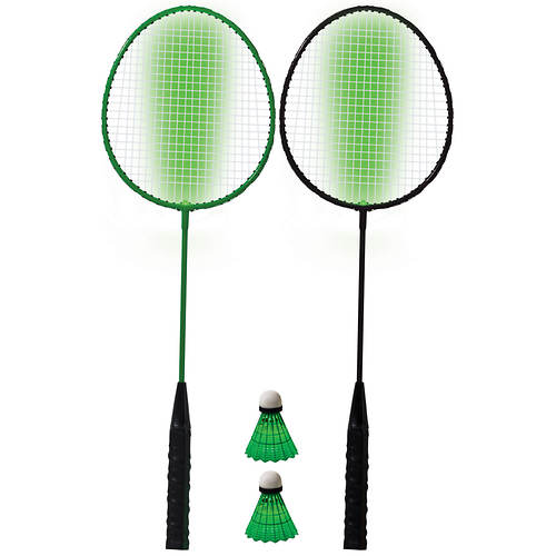 Franklin Sports 2-Player LED Badminton Set