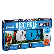 Franklin Sports-Disc Golf 3-Pack