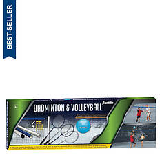 Franklin Sports-Badminton and Volleyball Set
