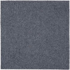 Peel and Stick Carpet Tiles-Smoke