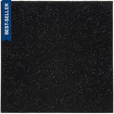 Peel and Stick Carpet Tiles-Jet