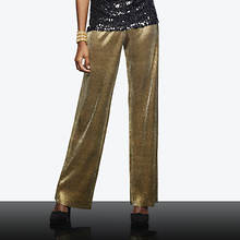 Gold Pleated Pant
