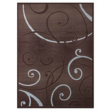 Dallas 3-Pc. Rug Set-Bangles Chocolate