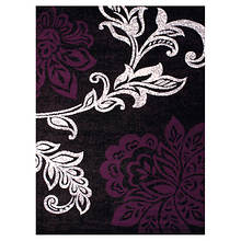 Dallas 3-Pc. Rug Set-Trouseau Plum