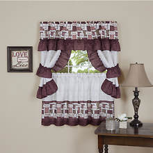 Inspiration Cottage Window Treatment Set