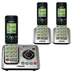 VTech Cordless Phone Base + 2 Handsets