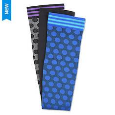 Comfortiva Women's Knee-High Compression Socks - 3-Pack