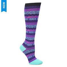 Comfortiva Women's Knee-High Compression Socks - Single Pair