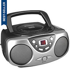 Sylvania CD Boom Box with AM/FM Radio
