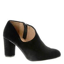 ALL BLACK Velvet side Scoop (Women's)