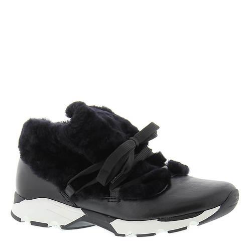 ALL BLACK Furry Sneak (Women's)