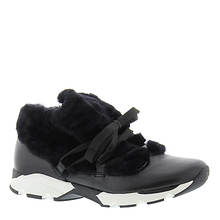 ALL BLACK Furry Sneak (Women's)