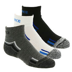 New Balance Boys' 3-Pack N967-3 Ankle Socks