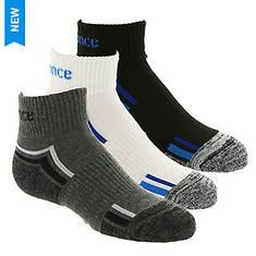 New Balance Boys' 3-Pack N967-3 Ankle Socks