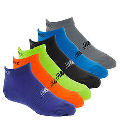 New Balance Boys' 6-Pack N850 No Show Socks