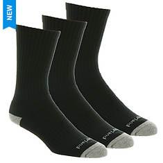 Timberland Men's TM30405 Basic Crew Sock 3 Pack