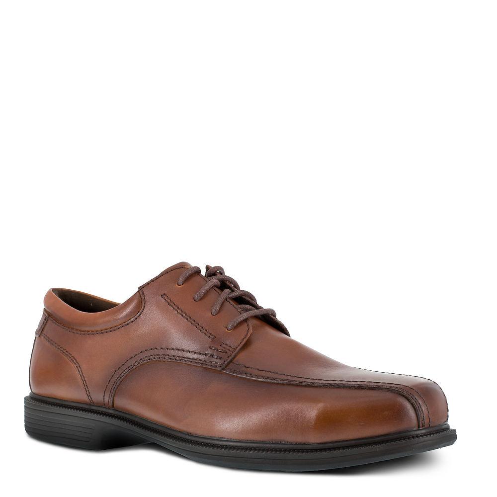 Mens Vintage Shoes, Boots | Retro Shoes & Boots Florsheim Work Coronis Mens Brown Oxford 14 D $119.95 AT vintagedancer.com