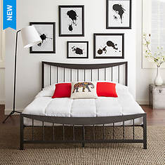 Pure Form Stacy Platform Bed - Queen