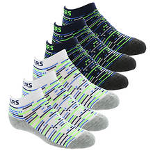 Skechers Girls' S108804 6-Pack 1/2 Terry Low Cut Socks