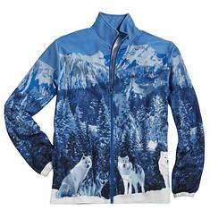 Fleece Wolf Jacket