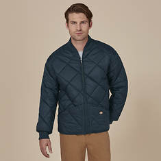 Dickies Men's Quilted Nylon Jacket