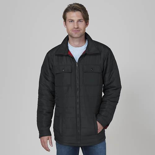 Men's Reversible Plaid Jacket