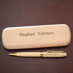 Personalized Wood Pens - Maple