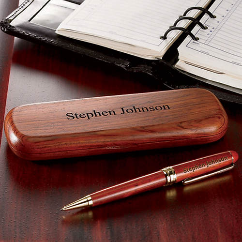 Personalized Wood Pens