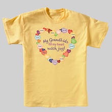Personalized Grandma's Joyful Heart Tee