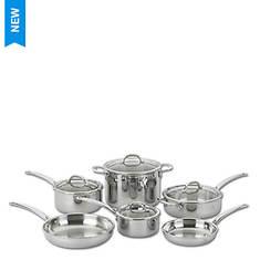 Lenox 10-Piece Stainless Steel Cookware Set