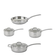 Lenox 7-Piece Tri-Ply Stainless Steel Cookware Set