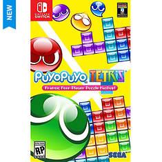 Sega SWITCH Puyo Puyo Tetris