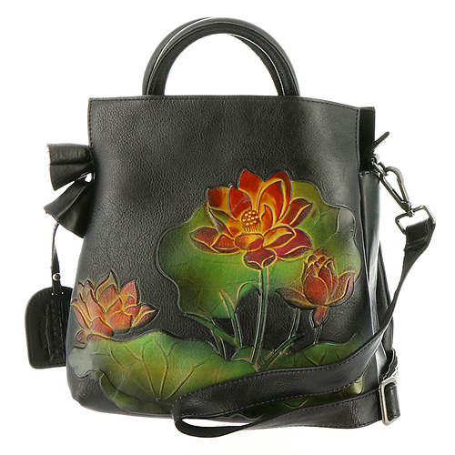 Spring Step Lilypad Tote Bag