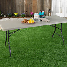 Indoor/Outdoor 6' Rectangle Center Fold Table
