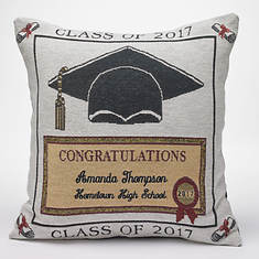 Personalized 2017 Graduation Pillow