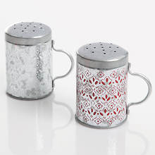 General Store Hollydale Salt & Pepper Tin Shakers