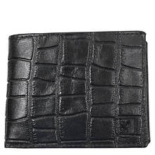 Stacy Adams Croco-Embossed Bifold Wallet