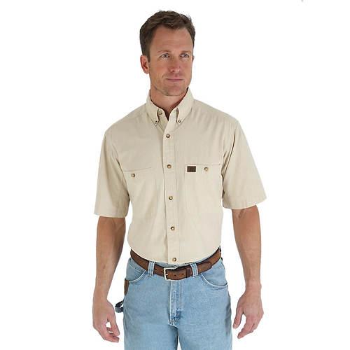 Wrangler Men's Chambray Work Shirt