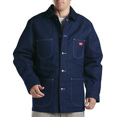 Dickies Men's Denim Blanket Lined Chore Coat