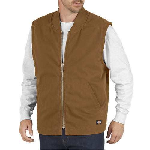 Dickies Men's Sanded Duck Insulated Vest