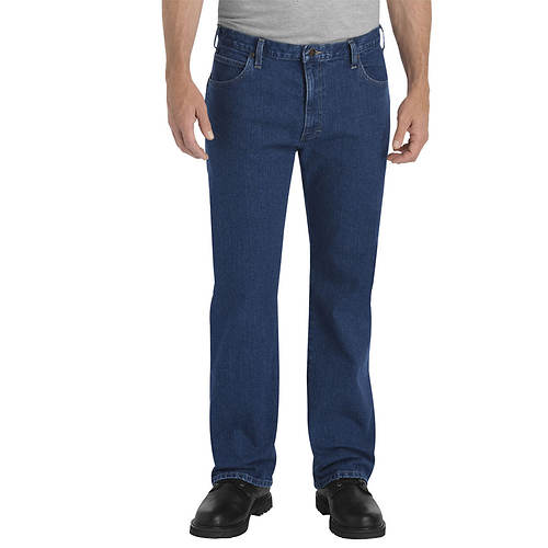 Dickies Men's Relaxed Fit Straight Leg 5-Pocket FLEX Jeans