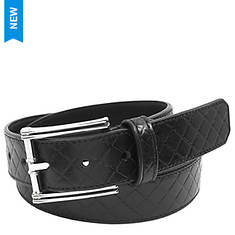 Stacy Adams Webster 34mm Diamond Belt