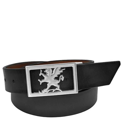 Stacy Adams Kosar 34mm Plaque Buckle Belt