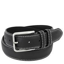 Stacy Adams Leather Contrast 35mm Belt