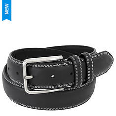 Stacy Adams Leather Contrast 35mm Belt