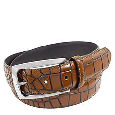 Stacy Adams Ozzie 34mm Croco Emboss Belt