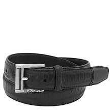 Stacy Adams Ostrich Leg Emboss 32mm Belt